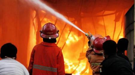 Terjadi Kebakaran Tidak Wajar di Rumah Sri Wahyuni Yang Ada Di Luar Batang, Penjaringan